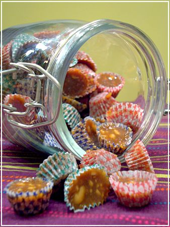 Swedish Christmas Candy – Knäck! A hard caramel with Almond, can be made soft as well.