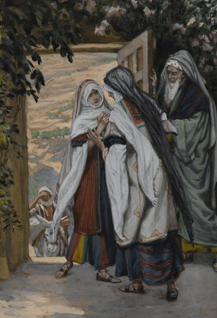 """The Scene of the Visitation (Luke 1:39-56) would have attracted little attention... no one would have shouted: """"Come see!   This will be written in the Bible!"""".... http://thebreadboxletters.blogspot.com/2013/05/my-visitations.html"""