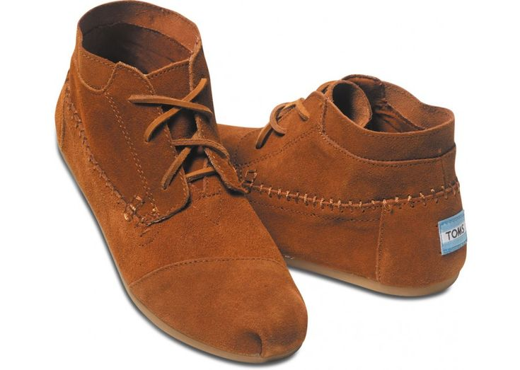 Chestnut Suede Women's Tribal Boots | A soft and comfortable take on a moccasin.