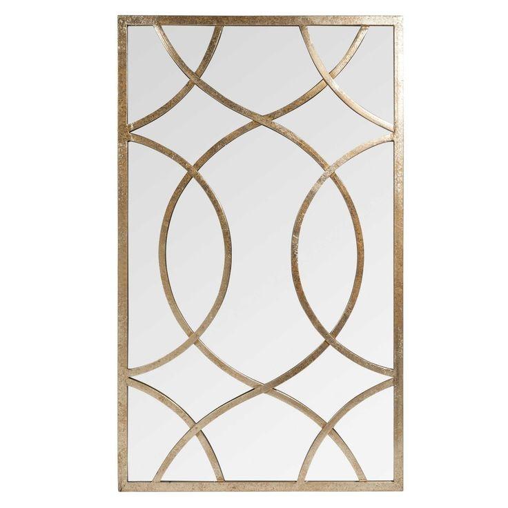Spiegel aus Metall H 100 cm OLNEY