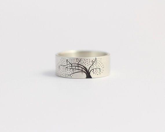 Anillo de compromiso o anillo de bodas con Sabana de por ashhilton
