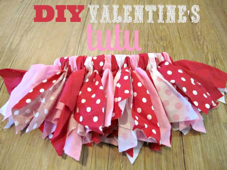 Atwood Avenue: How To Make a Fabric Valentine's Tutu {DIY}