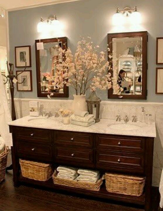 Bathroom Double Sink Decor 112 best bathroom ideas images on pinterest | home, room and