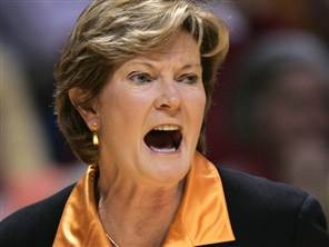 Pat Summitt, Head Coach of the Tennessee Volunteers female basketball team. In 38 years as a coach, she never had a losing team. She has had the most wins of any coach in the NCAA, men's or women's.