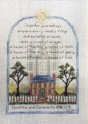 I really like and want to stitch this. Religious, LDS & Mormon Cross Stitch Patterns | Yvette Ungricht Cross Stitch