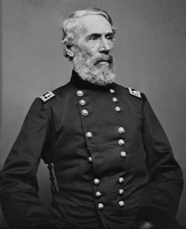 * Major General Edwin Vose Sumner * * Guerra de Secessão (1861-1865) *