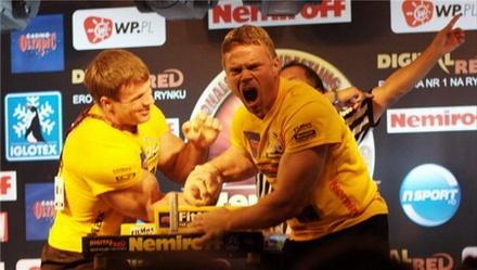 John Brzenk, dominant arm wrestling champion for 20 years