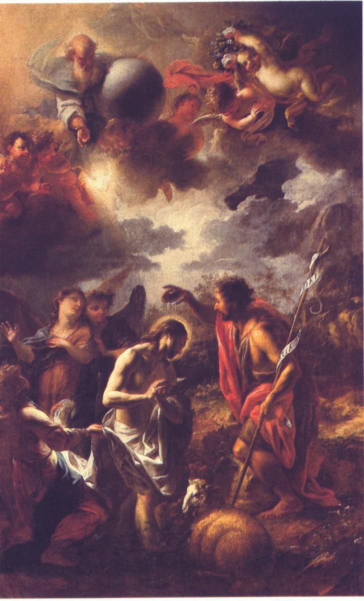 Petr Brandl - Křest Kristův v Minětíně
