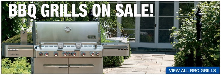 BBQ grills on sale!