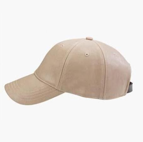 AVERY FAUX LEATHER CAP - Stunner Boutique  - 1