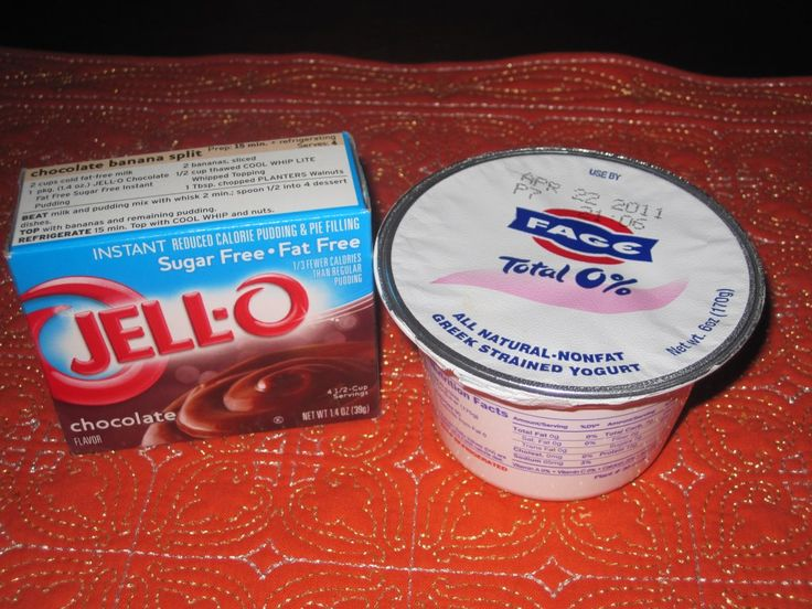 Chocolate Mousse = Fage Greek Yogurt + Chocolate Jell-o
