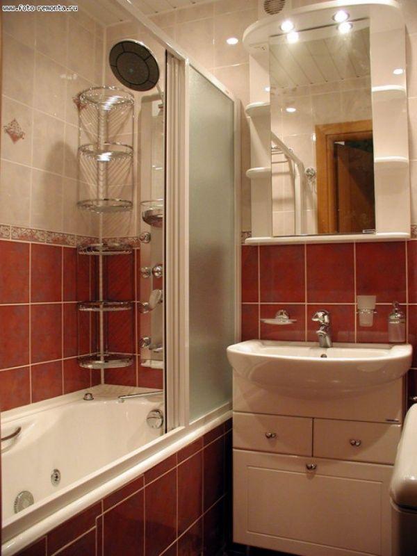 дизайн маленькой ванной комнаты интерьер отделка сантехника