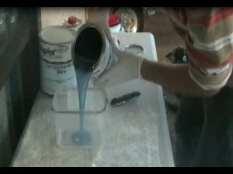 how to fiberglass BY a beginner for beginners-part 1 - YouTube