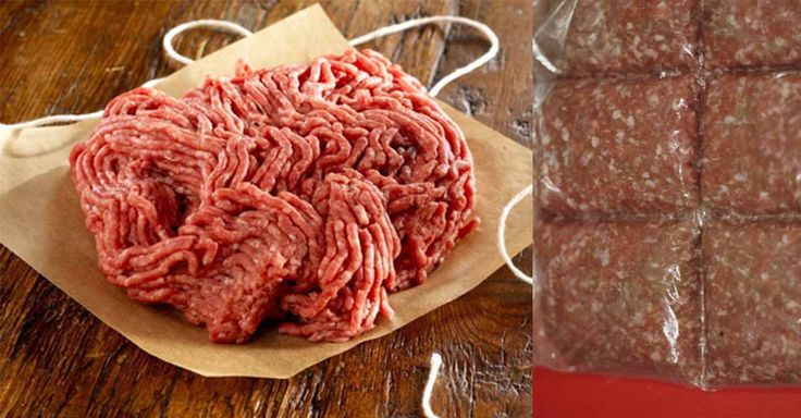 Não Perca!l Gosta de cozinhar com carne moída? Então conheça um truque fácil para a congelar! - # #carnemoida #CarnePicada #CONGELAR #Porções #truque