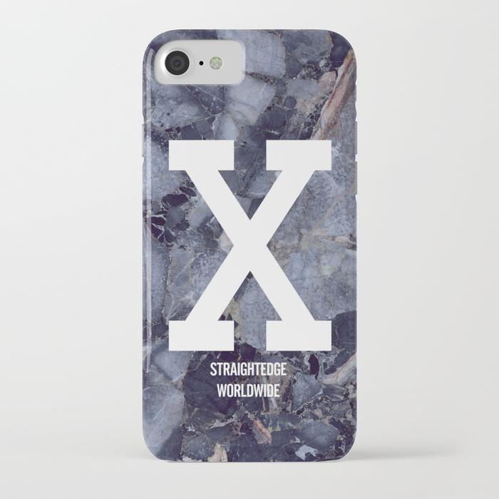 xBLUE MARBLEx Phone Case