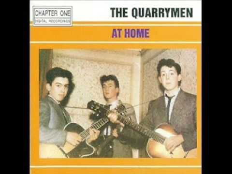 The Quarrymen in Hamburg...I saw her standing there....early Beatles