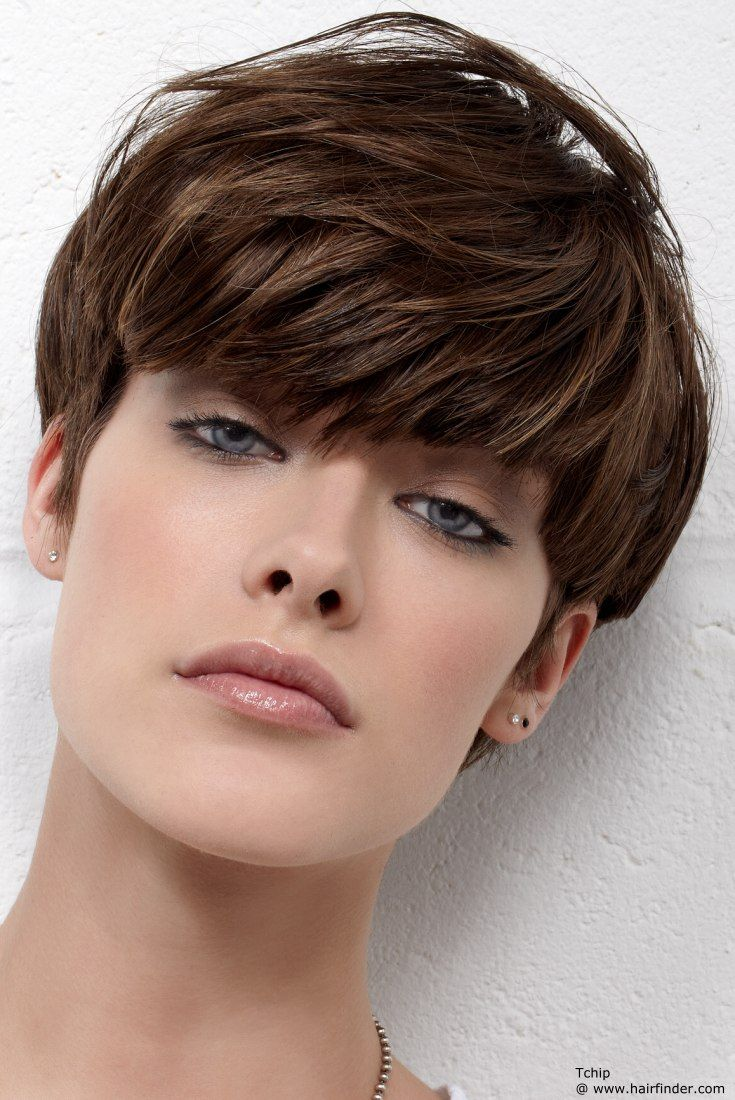 Very Short Hairstyles With Long Bangs Wsaflztw
