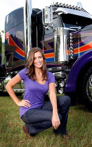 24 best The Female Trucker images on Pinterest Truck