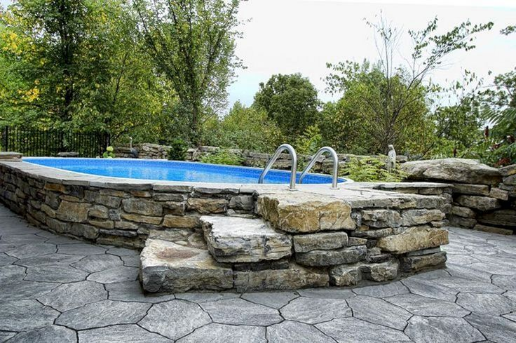 Top 25 best hot tub patio on a budget ideas on pinterest Above ground pool privacy