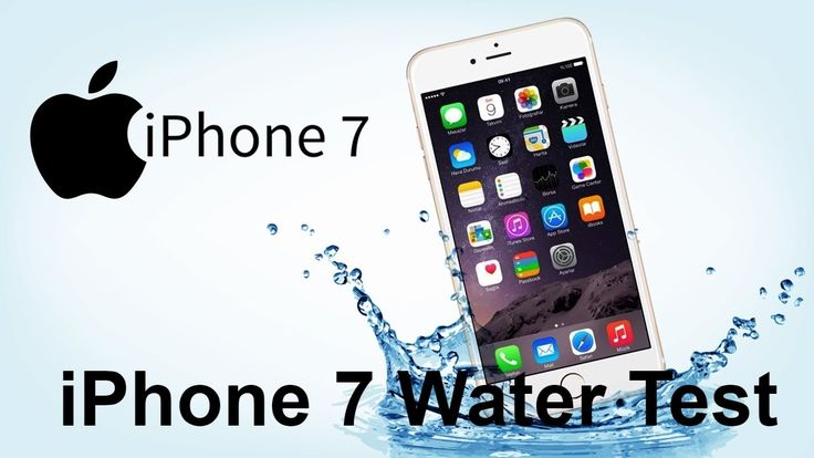 iPhone 7 Water Test Secretly Waterproof Video in AMAZING