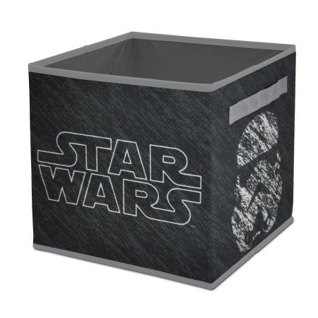 Star Wars Collapsible Storage Cube, Black