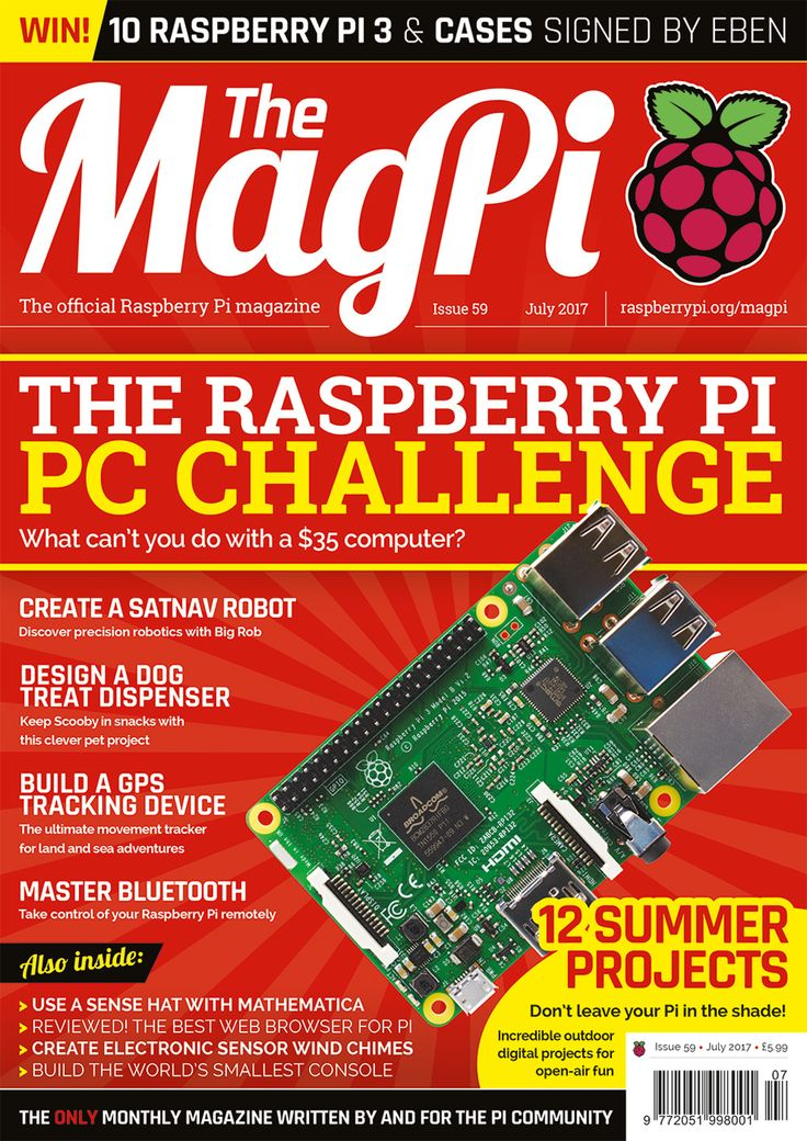 Have a bit of spare time this Saturday? Why not make something quick and fun with your Raspberry Pi?
