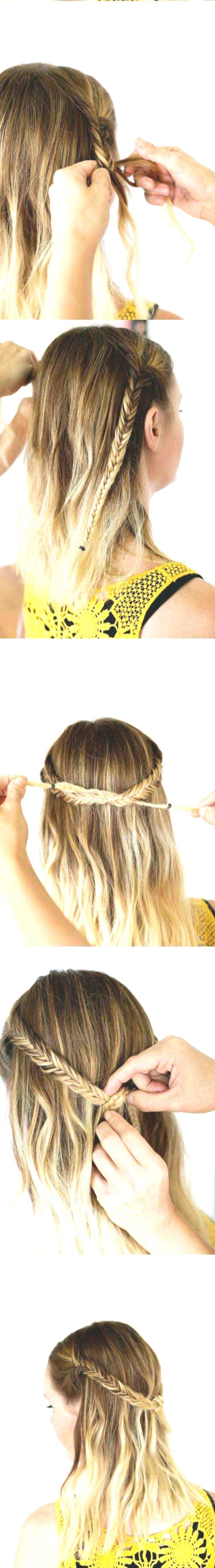 Hairstyles for school Best hairstyles for summer - Bohemian Festival Knot ...