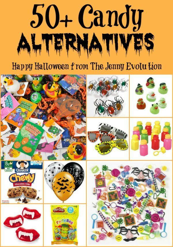 50  Candy Alternatives for Halloween Trick or Treating