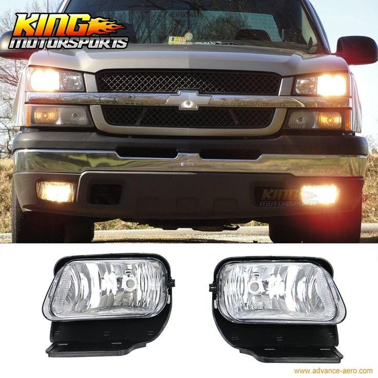 41.99$  Watch more here - http://aiu1a.worlditems.win/all/product.php?id=32714811990 - For 2003-2006 04 05 Chevy Silverado Fog Lamp Light LH RH Clear Lens Wiring Kit Black Bezel