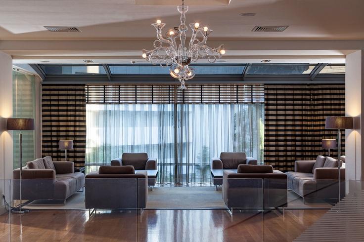 The lobby of the Galaxy Hotel Iraklio - www.galaxy-hotel.com