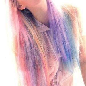 Rainbow Hair Dip Dye Hair Kool Aid Hair Dye Kool Aid Hair