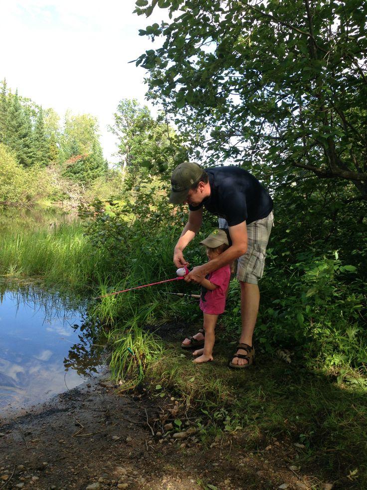 Fishing at Bonnechere Provincial Park