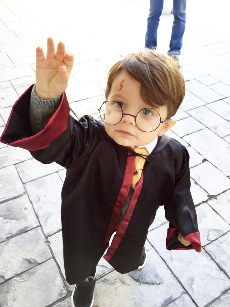 Toddler boy Halloween Harry Potter costume