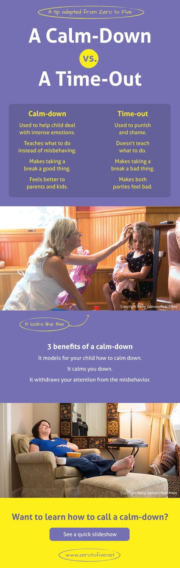 Time-outs are used to punish and shame, but a calm-down helps kids deal with intense emotions. Calm-downs are a healthy and positive discipline approach for both parents and children. Love this guide for parents!