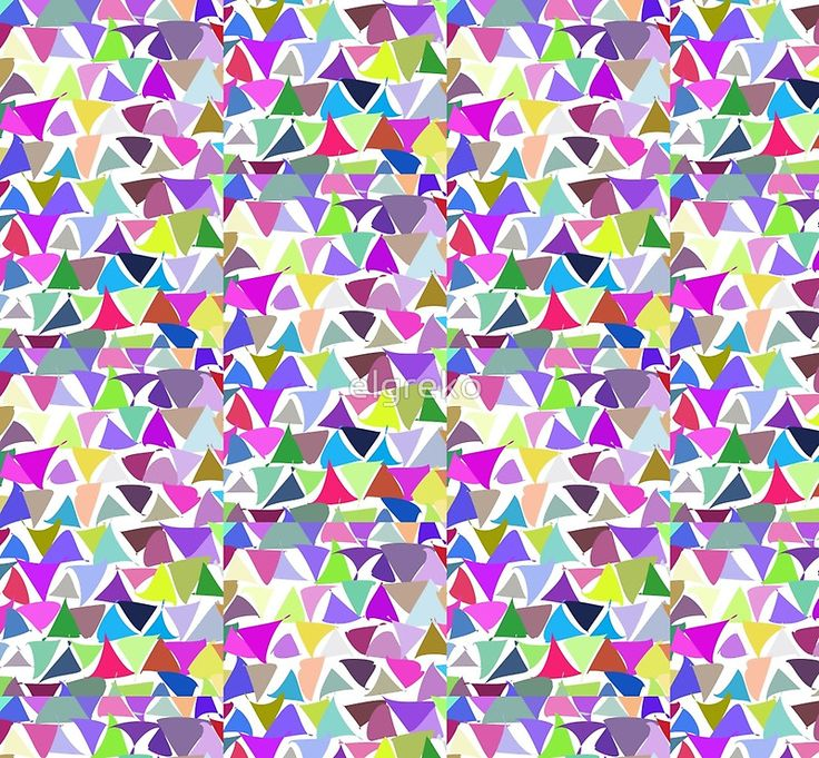 shuffled colorful triangle pattern background