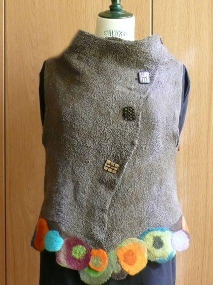 felt vest