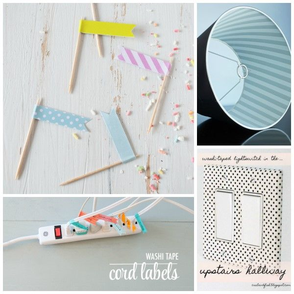 Washi tape projects http://www.savoirville.gr/washi-tape-projects/