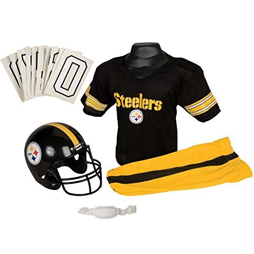 Franklin Sports NFL Pittsburgh Steelers Deluxe Youth Uniform Set, Small Franklin http://www.amazon.com/dp/B003L9ML5O/ref=cm_sw_r_pi_dp_tUNMvb1JEQ9M6