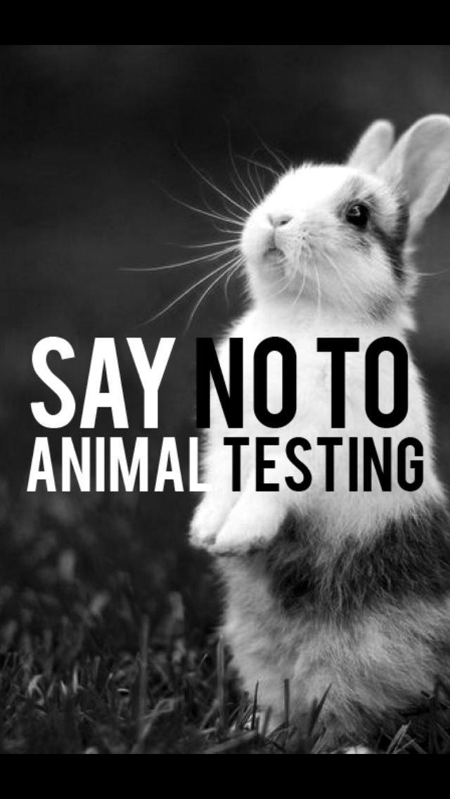 Get the Cruelty-Cutter app! Scan your products and it'll tell you if they tested on animals, or not!