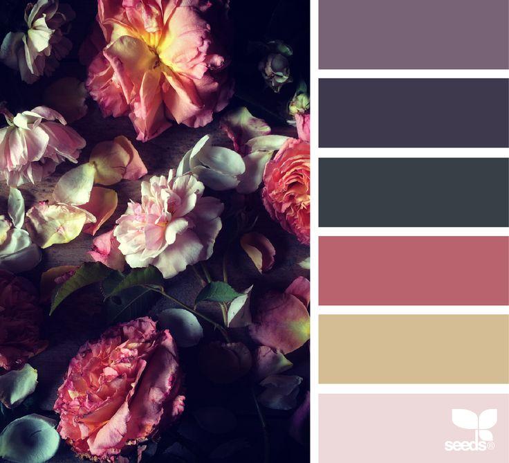 {} La flora paleta de imagen a través de: @kunstkiekje