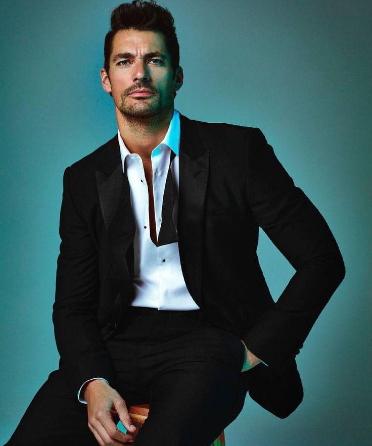 David Gandy, Men's Fashion, Male Model, Beautiful Men, Handsome, Eye Candy, Sexy, Suits デイビッド・ガンディ 男性モデル メンズファッション スーツ