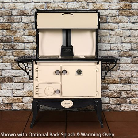 Waterford Stanley Wood Cook Stove - Enamel Cream
