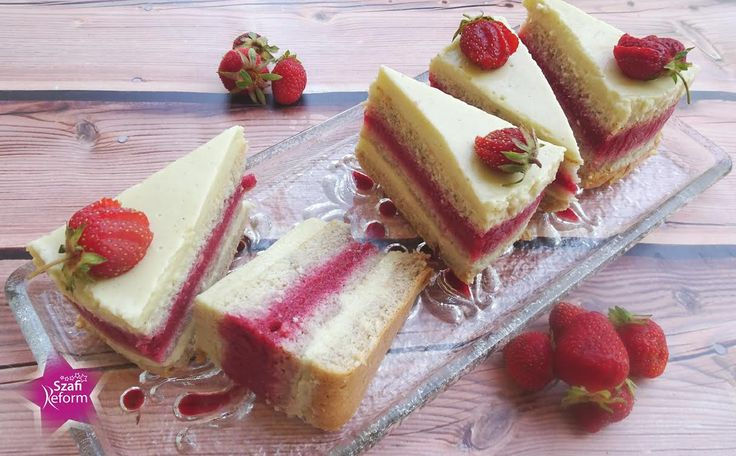 Piskóta, tojással készítve és vanília krémes torta