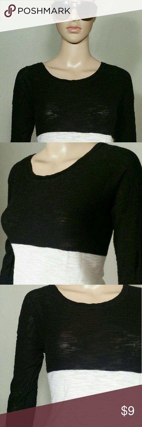 Express Womens Black Long Sleeve Shirt Size SP SMALL PETITE 66% Cotton 36% Rayon In Very good condition!! Very adorable!! A great gift!! Fast shipping!! Express Tops Tees - Long Sleeve