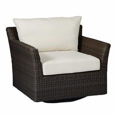 swivel patio chairs sale how to refinish wood summer classics club woven lounge chair with cushions color tropical silhouette emerald