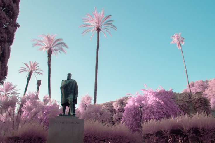 Infrared Photography Turns Rome into a Pink Paradise | The Creators Project