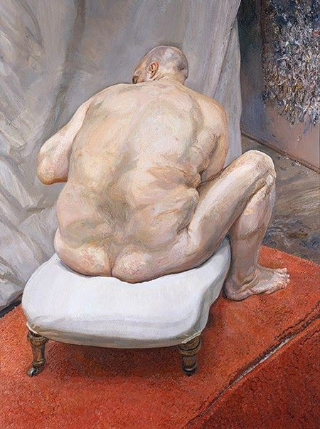 Γυμνός άνδρας, πίσω όψη (1992)