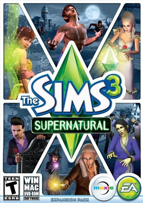 The Sims 3: Supernatural - another The Sims 3 expansion pack I want so bad