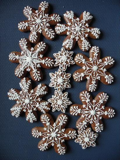 Vánoce- vločky | Perníky