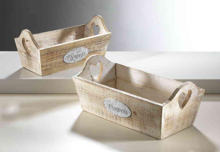 Holzschale eckig zum bepflanzen mit folie ausgeschlagen for Folie zum bekleben von holz
